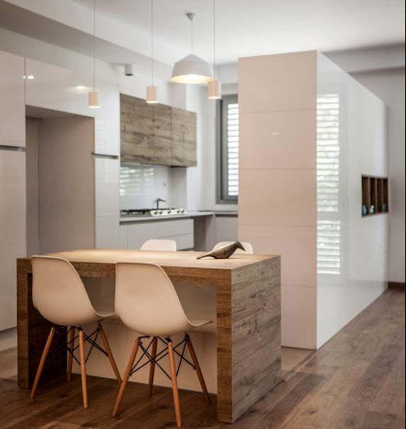 آشپزخانه مدرن خانه طراحی داخلی معماری مدرن