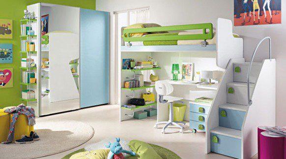 اتاق خواب کودک طراحی داخلی اتاق زیبا اتاق کودک دختر