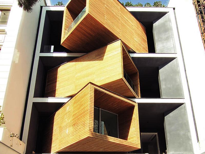 خانه شریفی ها معماری مدرن ایرانی