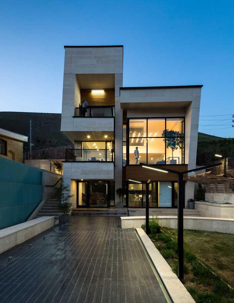 ویلا مشا معماری مدرن ایرانی خانه شیک