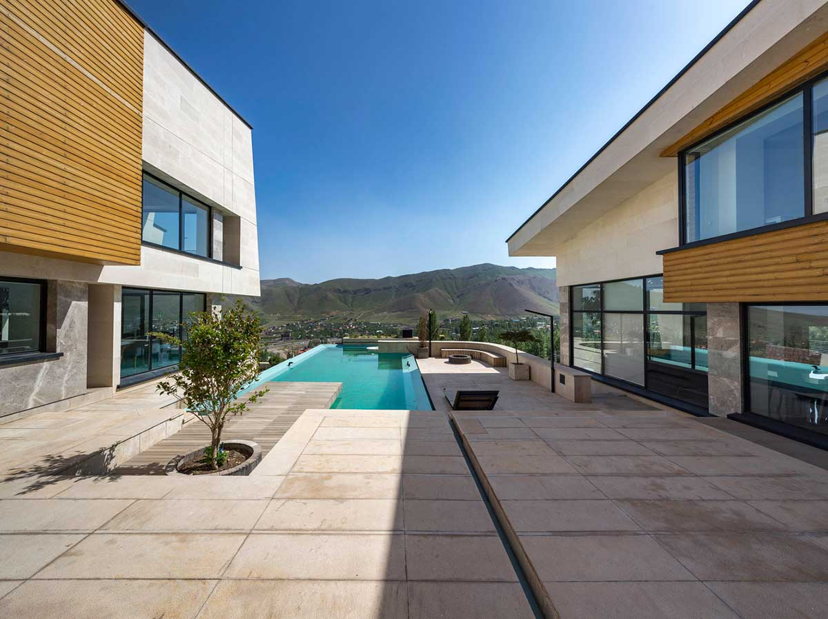 خانه ویلایی طراحی داخلی معماری میلا مشا