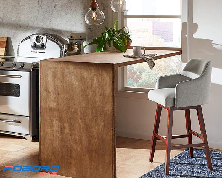 صندلی مدرن اپن چوبی
