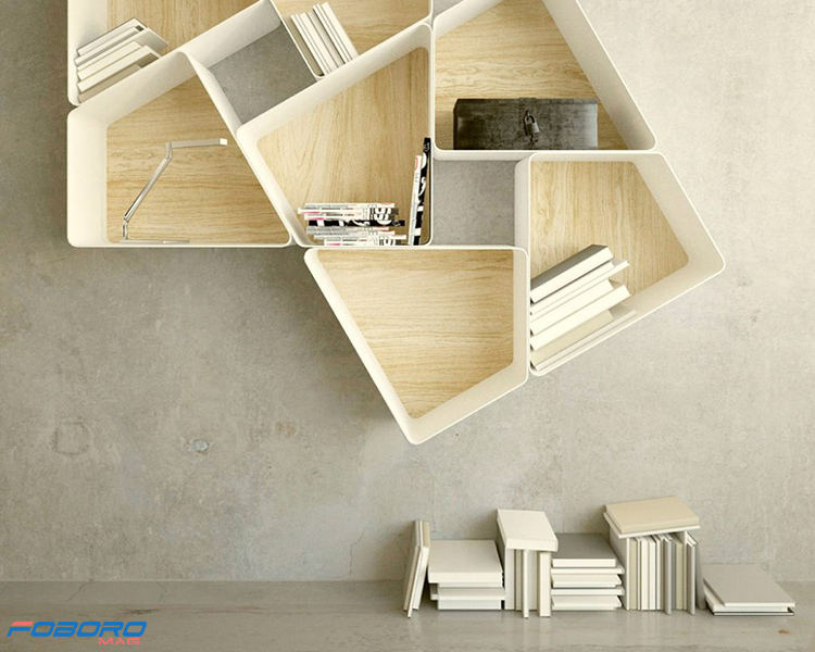 مدل مدرن کتابخانه