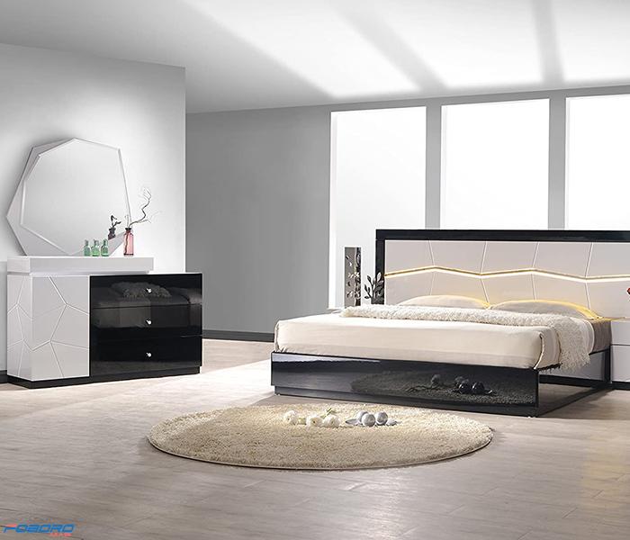 سرویس خواب مدرن سفید